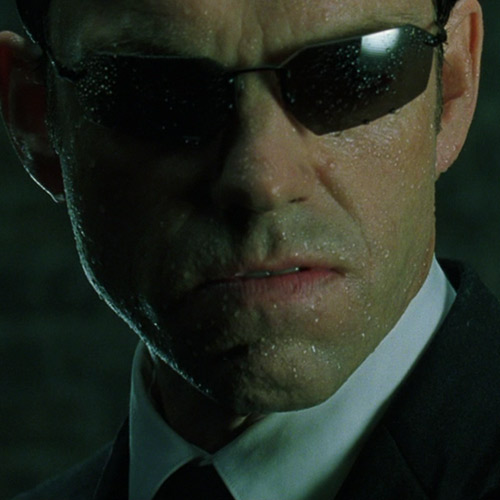 Movie Villains answer: AGENT SMITH