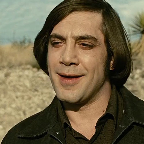 Movie Villains answer: ANTON CHIGURH