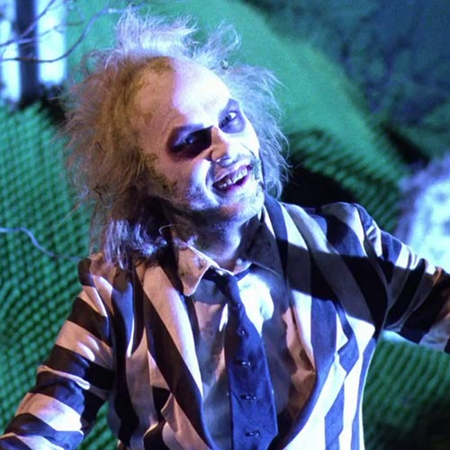 Movie Villains answer: BEETLEJUICE