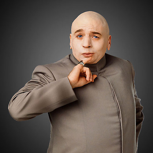 Movie Villains answer: DR EVIL