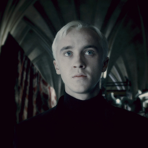 Movie Villains answer: DRACO MALFOY