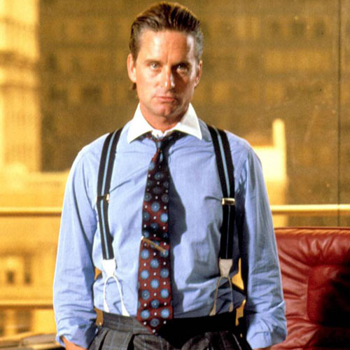 Movie Villains answer: GORDON GEKKO