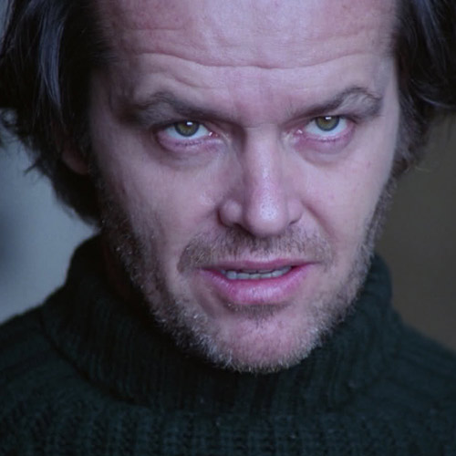 Movie Villains answer: JACK TORRANCE