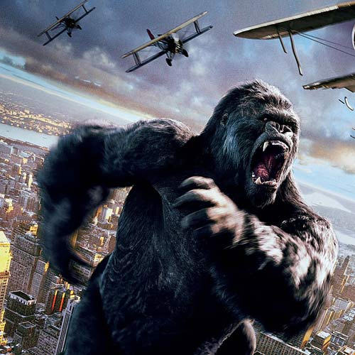 Movie Villains answer: KING KONG