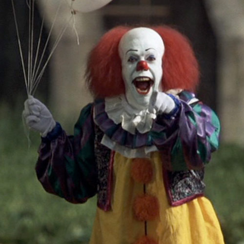 Movie Villains answer: PENNYWISE