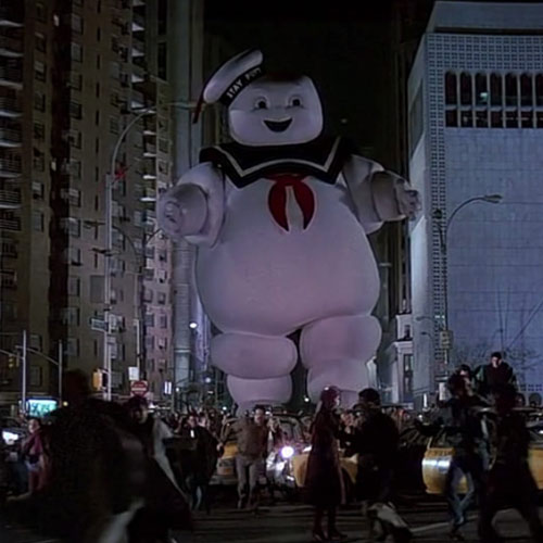 Movie Villains answer: STAY PUFT