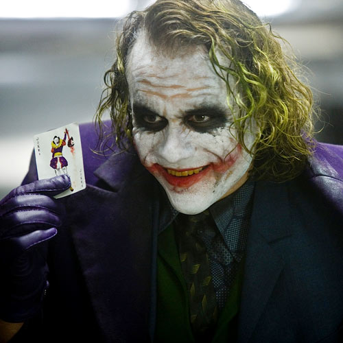 Movie Villains answer: THE JOKER