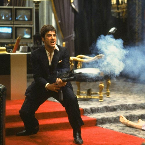 Movie Villains answer: TONY MONTANA