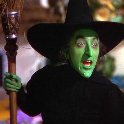 Movie Villains answer: WICKED WITCH
