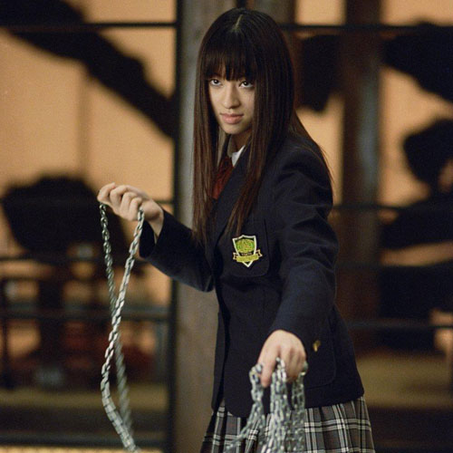 Movie Villains answer: GOGO YUBARI