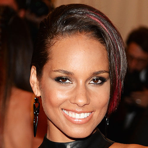 Music Stars answer: ALICIA KEYS