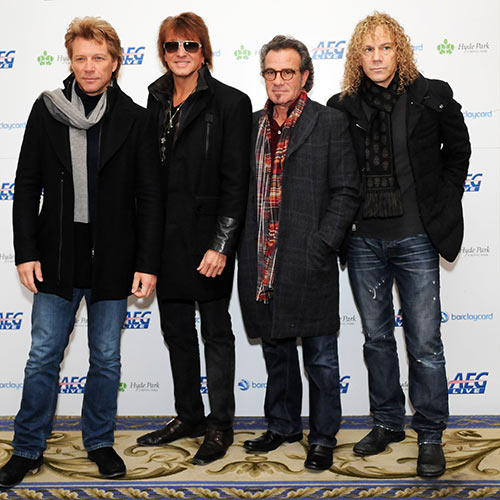 Music Stars answer: BON JOVI