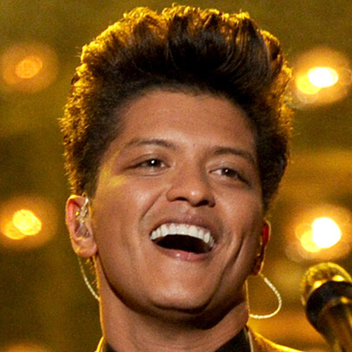 Music Stars answer: BRUNO MARS
