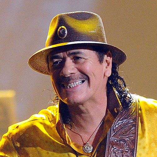Music Stars answer: CARLOS SANTANA