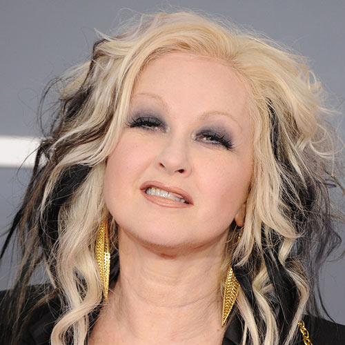 Music Stars answer: CYNDI LAUPER