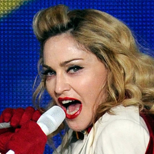 Music Stars answer: MADONNA