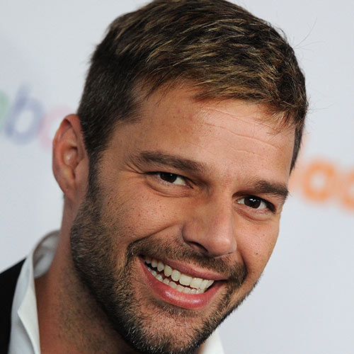Music Stars answer: RICKY MARTIN