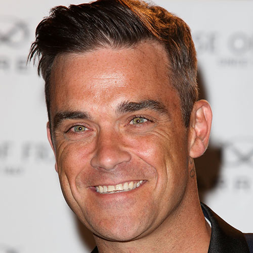 Music Stars answer: ROBBIE WILLIAMS