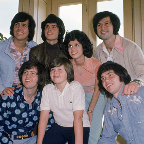 Music Stars answer: THE OSMONDS