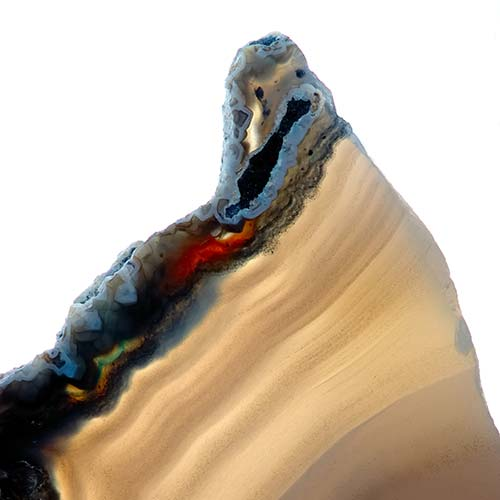 Nature answer: AGATE