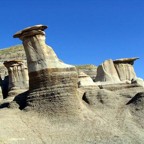 Nature answer: HOODOOS