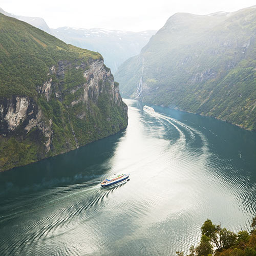 Nature answer: FJORD