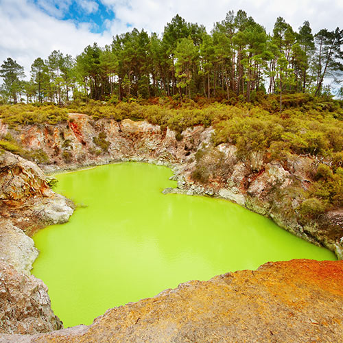 Nature answer: SULPHUR POOL