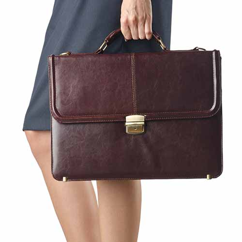 Office answer: BRIEFCASE