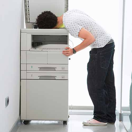Office answer: PHOTOCOPIER
