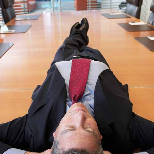 Office answer: POWER NAP