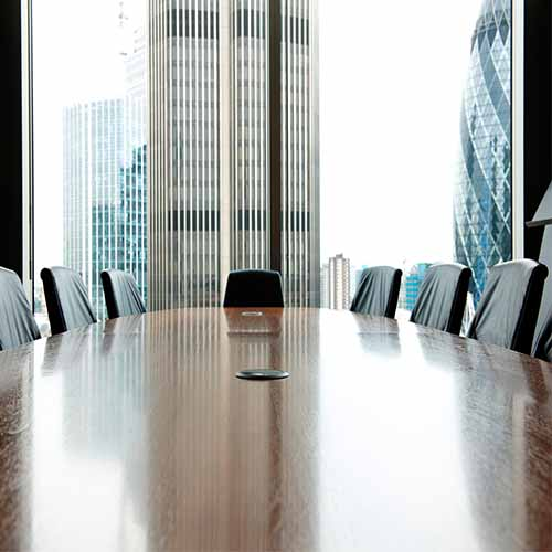 Office answer: BOARDROOM
