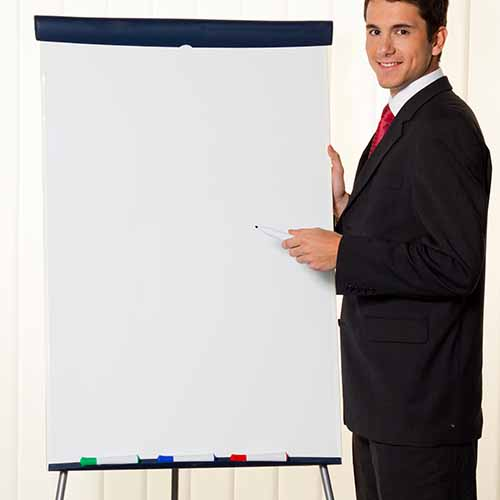 Office answer: FLIP CHART
