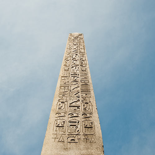 O is for... answer: OBELISK