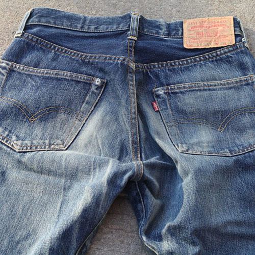 One-Something answer: LEVIS 501`S