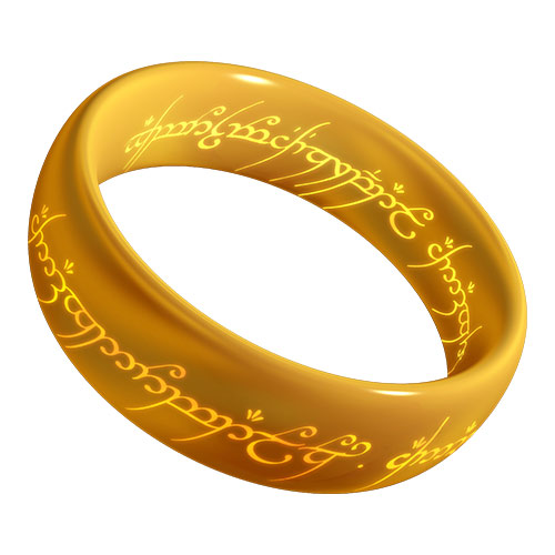 One-Something answer: ONE RING