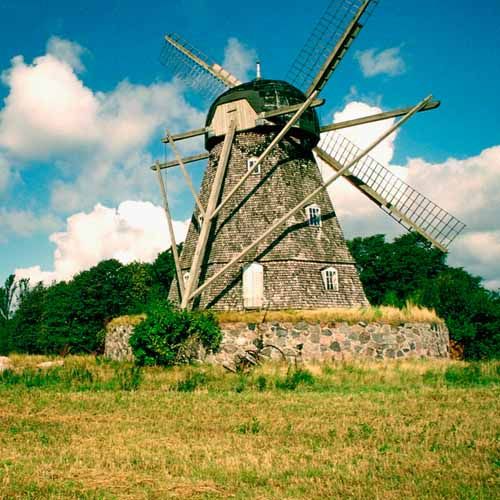 On The Farm answer: WINDMILL