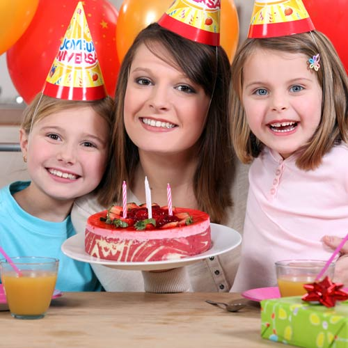 Parenting answer: BIRTHDAY PARTY
