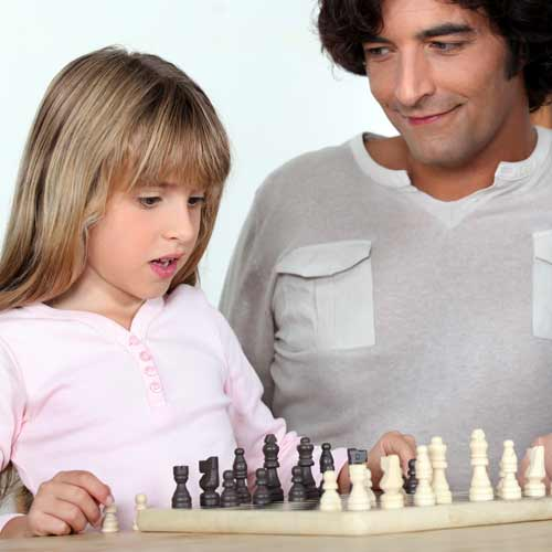 Parenting answer: CHESS MATCHES