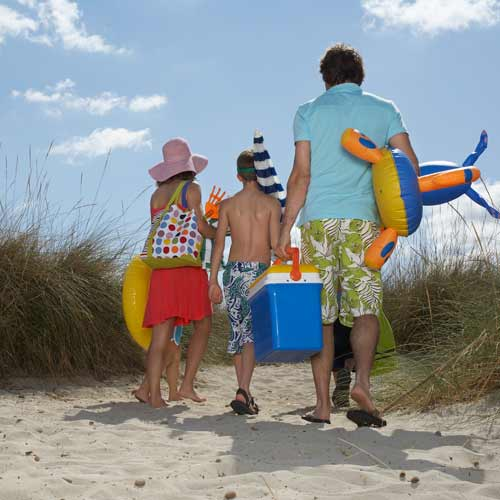 Parenting answer: GO TO THE BEACH