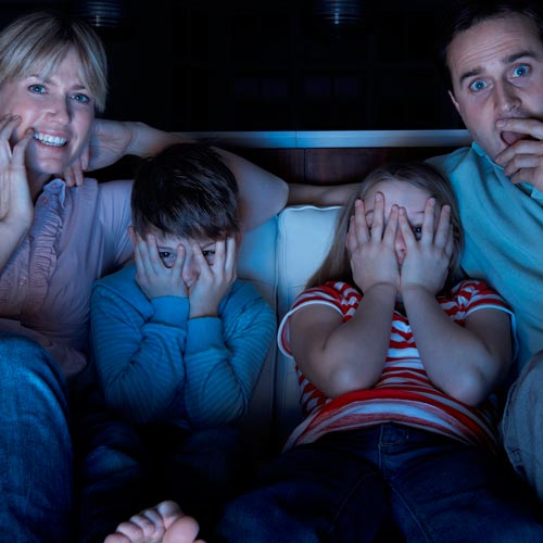 Parenting answer: MOVIE NIGHT