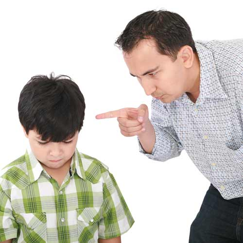 Parenting answer: SCOLDING
