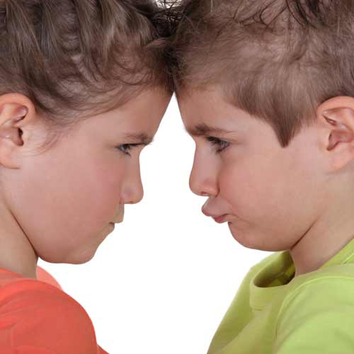 Parenting answer: SIBLING RIVALRY