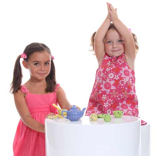 Parenting answer: TEA PARTY