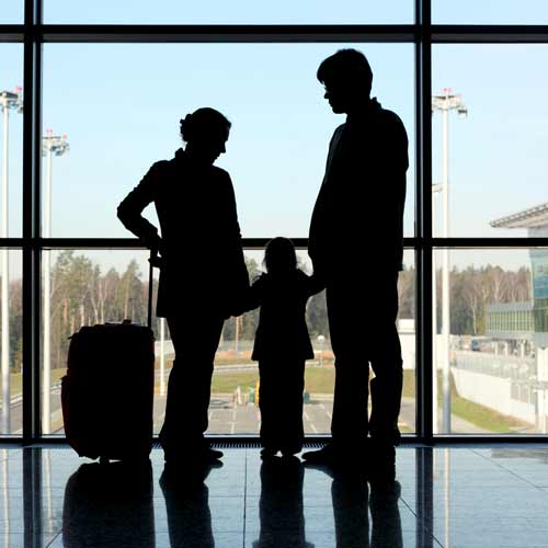 Parenting answer: TRAVELING