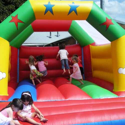 Party answer: BOUNCY CASTLE