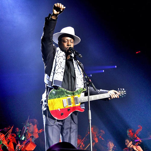 Profile Pics answer: WYCLEF JEAN