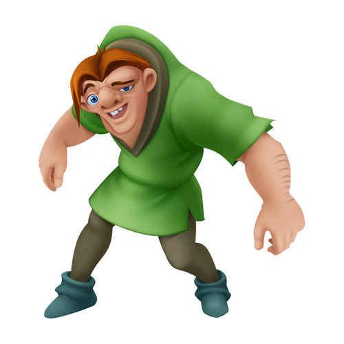 Q is in... answer: QUASIMODO