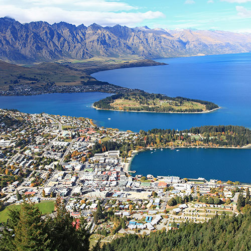 Q is in... answer: QUEENSTOWN