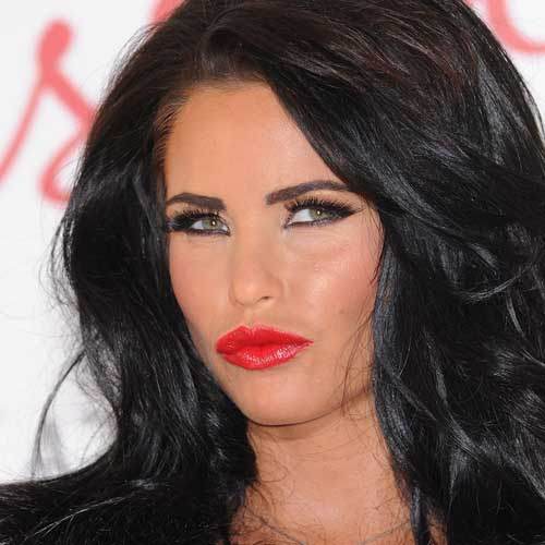 Reality TV Stars answer: KATIE PRICE