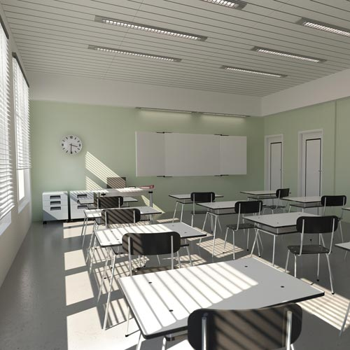 School answer: CLASSROOM